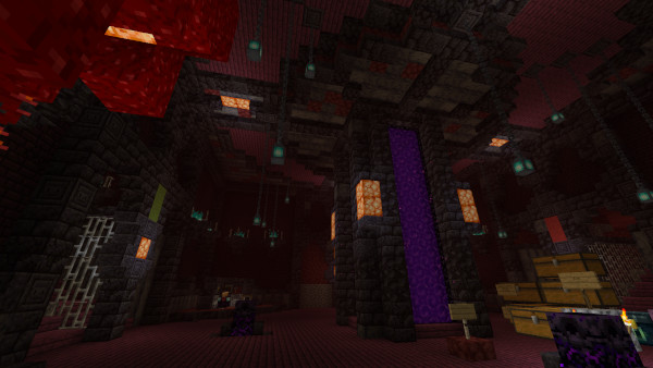 1.16 Nether Hub: Main room finished!