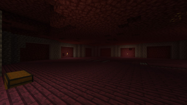 1.16 Nether Hub: Start of the Northern Hub room