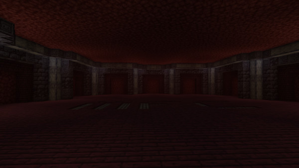1.16 Nether Hub: Our Northern Hub room nearly completed